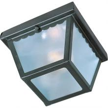 Maxim 6203FTBK - Outdoor Essentials - 620x-Outdoor Flush Mount