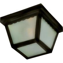 Maxim 6204FTBK - Outdoor Essentials - 620x-Outdoor Flush Mount