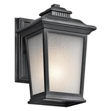 Kichler 49438BK - One Light Black (painted) Wall Lantern