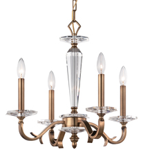 Crystorama 2234-RB - Crystorama Hugo 4 Light Roman Bronze Mini Chandelier