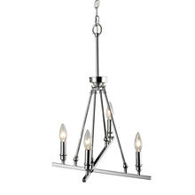 Golden 2360-4 CH - 4 Light Chandelier