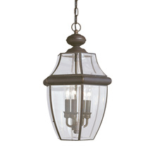 Sea Gull 6039-71 - Three Light Outdoor Pendant