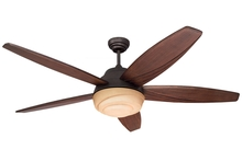 Monte Carlo 5AGR56RBD - Three Light Bronze Ceiling Fan