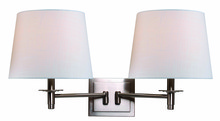 Kenroy Home 32618BS - Glenn Wall Swing Arm Lamp