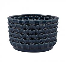 Dimond 167-005 - Accordion Crackled Blue Pot