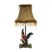 Dimond 7-208 - Petite Rooster Table Lamp in Ainsworth Finish