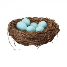 Dimond 857098 - European Starling Eggs In Nest