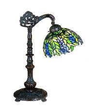 "Meyda Tiffany 27167 - 19""H Tiffany Honey Locust Desk Lamp"